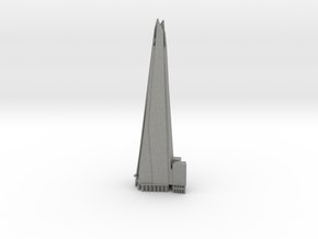 The Shard - London (6 inch) in Gray PA12
