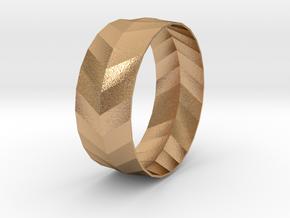 'ARROW' Bracelet  in Natural Bronze
