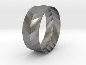 'ARROW' Bracelet  in Natural Silver