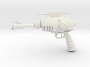 1:6 Miniature Alien Blaster - Fallout New Vegas in White Natural Versatile Plastic