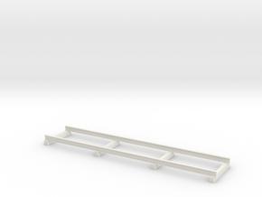 1:87 Additional tracks Zusatzschienen Windowcrane in White Natural Versatile Plastic