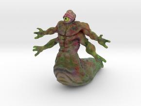Slimey Dungeon Defender in Full Color Sandstone