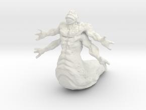 Slimey Dungeon Defender in White Natural Versatile Plastic