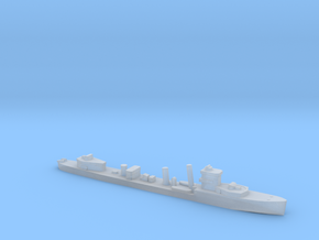 HMS Vega 1:2400 WW2 naval destroyer in Smoothest Fine Detail Plastic