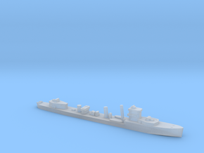 HMS Vega 1:1800 WW2 naval destroyer in Smoothest Fine Detail Plastic