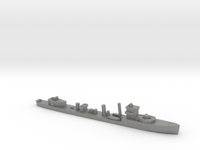 HMS Vega 1:1800 WW2 naval destroyer in Gray PA12