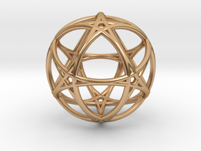 Life 6D Live in Polished Bronze