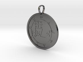 Dantalion Medallion in Polished Nickel Steel