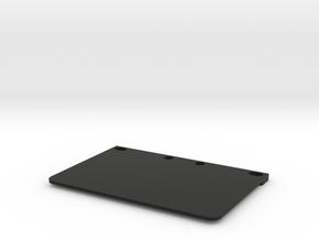 Floating electronic plate WRC STX in Black Natural Versatile Plastic