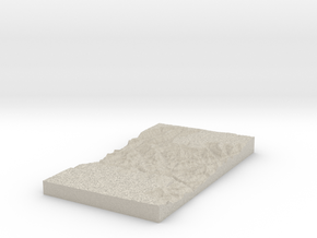 Model of Cheops Pyramid in Natural Sandstone