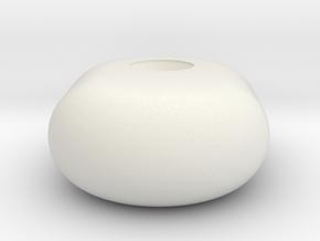 HFP-101091 Throttle Friction Handle Knob in White Natural Versatile Plastic