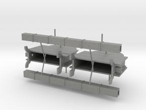 Set of two XVIII-XIX Century Chain Pumps in 1:48 in Gray PA12