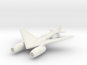 (1:144) Junkers Area rule Patent Fighter (03-1944) in White Natural Versatile Plastic
