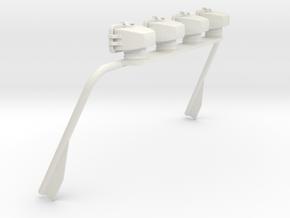 Mopar Jeep Light Bar Tamiya CC-01 in White Natural Versatile Plastic