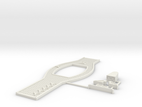 Rostock Carrier Deck in White Natural Versatile Plastic