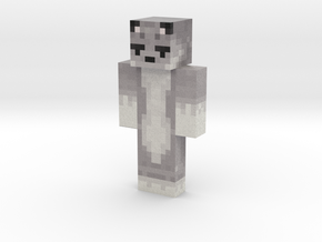 ThePixelWolv | Minecraft toy in Natural Full Color Sandstone