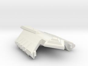 3788 Scale Ymatrian Dagger Frigate (FF) MGL in White Natural Versatile Plastic