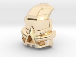 Kanohi Kaukau in 14K Yellow Gold