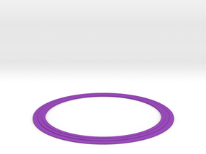 Planet Gas Rings - Small in Purple Processed Versatile Plastic
