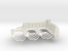 ! - Navy Frigate Shipyard in White Natural Versatile Plastic