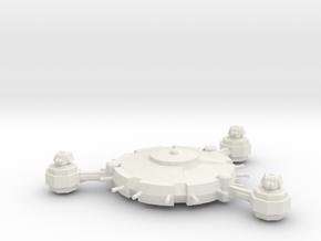 Orbital Defence Platform - Lite Battery in White Natural Versatile Plastic