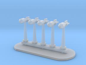 Rockets Sprue - Variant 3 in Smooth Fine Detail Plastic