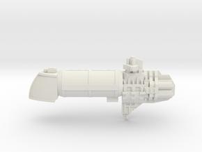 Escort Liquid / Gas Container  in White Natural Versatile Plastic