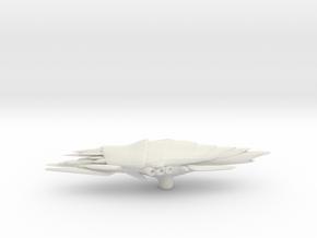 Actoid Attack Cruiser in White Natural Versatile Plastic