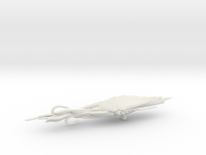 Actoid Rager Cruiser in White Natural Versatile Plastic