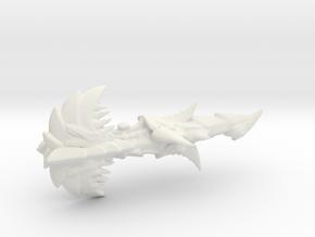 Hive Spore Cruiser - Concept A  in White Natural Versatile Plastic