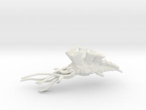 Carpac Cruiser - Concept A  in White Natural Versatile Plastic