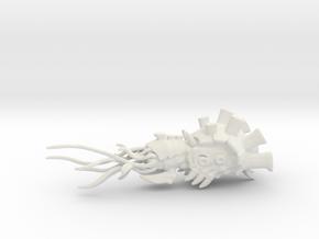 Heavy Carpac Cruiser - Concept A  in White Natural Versatile Plastic
