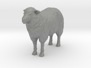 O Scale Sheep in Gray Professional Plastic