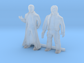 O Scale Male Robbers in Smooth Fine Detail Plastic