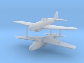 1/285 (x2) Mitsubishi Ki-73 fighter project (x2) in Smooth Fine Detail Plastic
