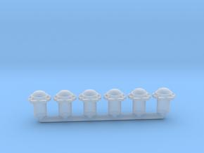 1:144 Hatch - 6x in Smooth Fine Detail Plastic: 1:144