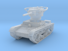 T 26 B Radio Tank 1/160 in Smooth Fine Detail Plastic