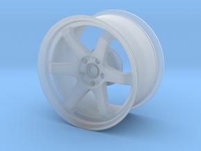 TE37 Replica  1:14 scale in Smooth Fine Detail Plastic
