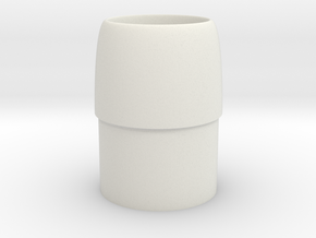 Intake Cone-BT-20 in White Natural Versatile Plastic