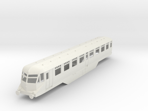 0-87-gwr-railcar-35-37-1a in White Natural Versatile Plastic