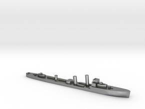 HMS Wessex 1:3000 WW2 naval destroyer in Natural Silver