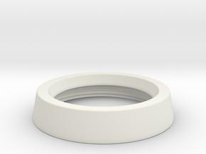 oDocs Fundus 20D PMMA Lens Cover in White Natural Versatile Plastic