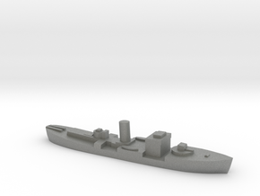 HMS Gloxinia corvette 1:3000 WW2 in Gray PA12