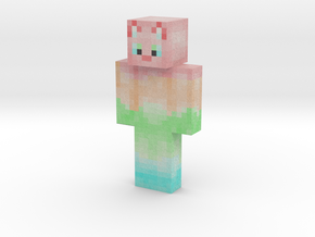 MajesticCat | Minecraft toy in Natural Full Color Sandstone