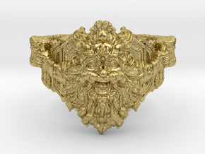 The Dwarven Ring of Festivities in Natural Brass: 10.25 / 62.125