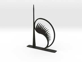 bookend dragon's fang in Black Natural Versatile Plastic