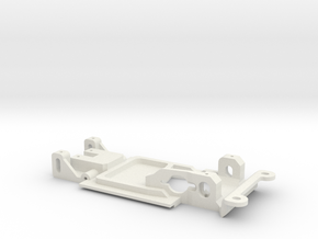 Carrera Universal 132 Chassis E21 320 Anglewinder in White Natural Versatile Plastic