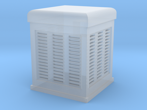 Swamp Cooler HO Scale in Smoothest Fine Detail Plastic