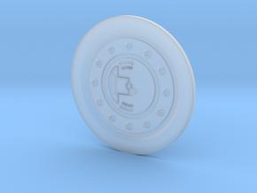 UH-1 Vario Fuel Cap 1/6 in Smooth Fine Detail Plastic