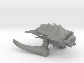 Kraken Beastship - Concept D in Gray PA12